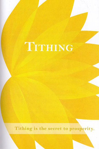What is tithing